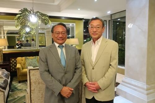 長浜博行参議院議員来訪   在タンザニア日本国大使館