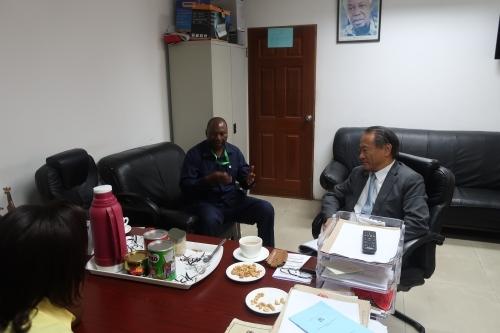 後藤大使のタンザニア・スポーツ界探訪シリーズ(1) 国家スポーツ評議会